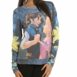 Disney Womens Repunzel Tangled Flynn Sweater M